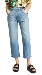 Hudson Sloane Extreme Baggy Cropped Jeans Outpace