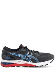 Asics Gel Nimbus 21 Running Sneakers Electric Blue