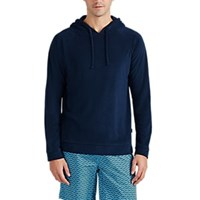 Onia Modal Blend French Terry Hoodie Navy