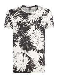 Replay Men's All Over Print T Shirt White