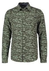 Blend Of America Shirt Dusty Green Oliv