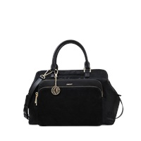 Dkny Satchel Riverside Mix Material Bag