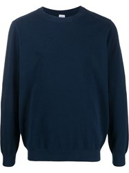 Eleventy Long Sleeve Fitted Jumper 60