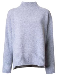 Le Ciel Bleu 'Boiled Box' Sweater Grey
