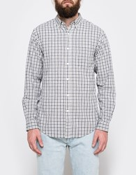Shades Of Grey Standard Navy Check Bd Shirt