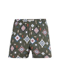 Mitchumm Industries Boxers Military Green