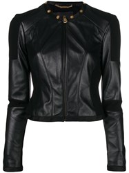 Versace Fitted Jacket Black