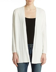 Lord And Taylor Oversized Cardigan White