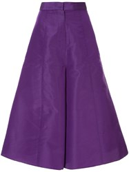 Bambah Faille Culottes Purple