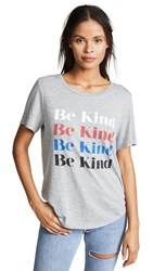 South Parade Lola Be Kind Tee Heather Gray