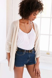 Ecote Ride The Wave Cardigan Ivory