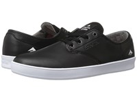 Emerica The Romero Laced Black White White Men's Skate Shoes