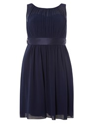 Dorothy Perkins Showcase Petites Beth Prom Dress Navy