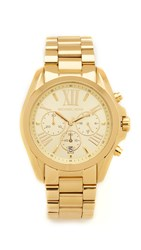 Michael Kors Bradshaw Chronograph Watch Gold