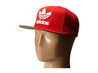 Adidas Original's Chain Snapback Scarlet White Caps Red