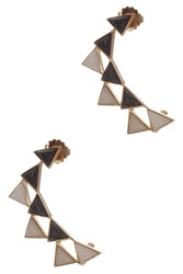 Isharya Pyramid Ear Cuffs