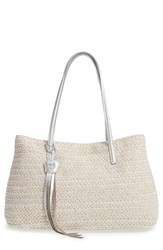 Eric Javits 'Dame Brooke' Tote White Frost White