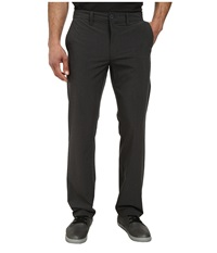 Travismathew Angus Pant Heathered Dark Shadow Men's Casual Pants Black