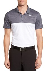 Nike Men's Zonal Cooling Fly Block Slim Fit Golf Polo