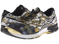 Asics Gel Noosa Tri 10 Gr Black Onyx Gold Ribbon Men's Running Shoes Multi