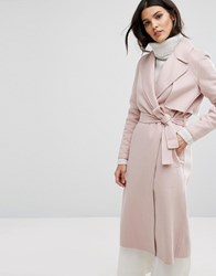 Selected Smart Coat Rose Dust Pink