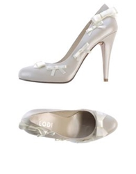 Lodi Pumps White