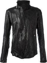Isaac Sellam Experience High Collar Jacket Black