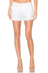 Parker Riley Short White