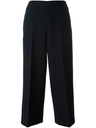 Akris Cropped Trousers Blue