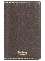 Mulberry Long Cardholder Brown