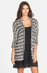 Volcom 'Star Sought' Cardigan Online Only Black