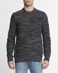 Carhartt Black And Grey Wool Accent Jumper