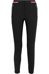 Tim Coppens Lux Jogger Wool Blend Tapered Pants Black