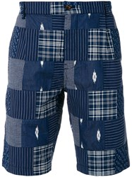 Universal Works Walk Shorts Blue