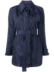 Sealup Belted Trenchcoat Blue
