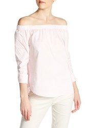 Philosophy Off The Shoulder Blouse Pink