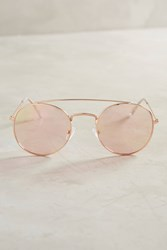 Anthropologie Cybil Sunglasses Pink
