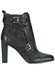 Fratelli Rossetti Buckled Ankle Boots Black
