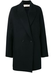 Damir Doma Double Breasted Coat Black