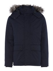 Army And Navy Mountain Parka Coat Dark Navy
