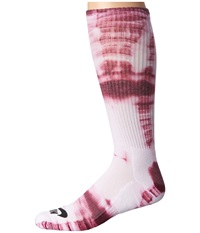 Nike Tie Dye Dri Fit Skate Crew White Villain Red Black Crew Cut Socks Shoes Pink