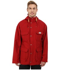 Penfield Kasson Hooded Mountain Parka Deep Red Men's Coat