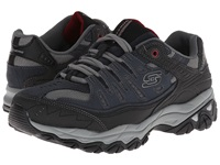 Skechers Afterburn M. Fit Navy Men's Lace Up Casual Shoes