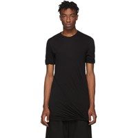 Rick Owens Black Double T Shirt