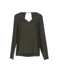 Cooper And Ella Blouses Military Green
