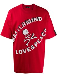 Mastermind Japan 'Peace And Love' Print T Shirt 60