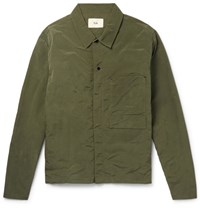 Folk Shell Shirt Jacket Green