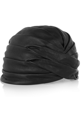 Saint Laurent Leather Turban