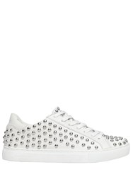 Crime 20Mm Studded Leather Sneakers