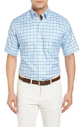 Peter Millar Men's Finland Check Regular Fit Sport Shirt